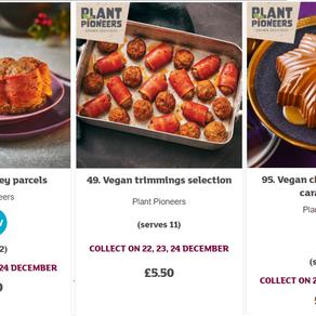 Sainsbury's Vegan Christmas 2020