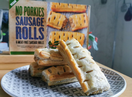 Iceland 'No Porkies' Sausage rolls review