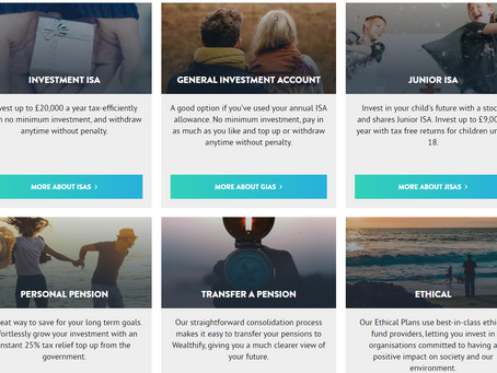 Review - Ethical Investing with Wealthify