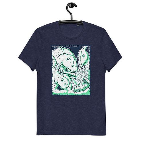 Team Herbivore Dinosaurs Organic Cotton Unisex T-Shirt
