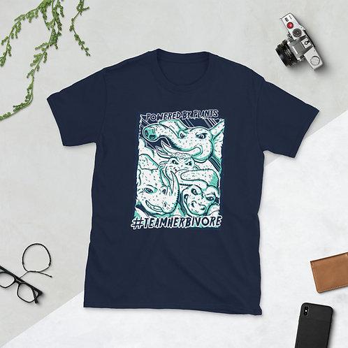 Team Herbivore Animals Cotton Unisex T-Shirt