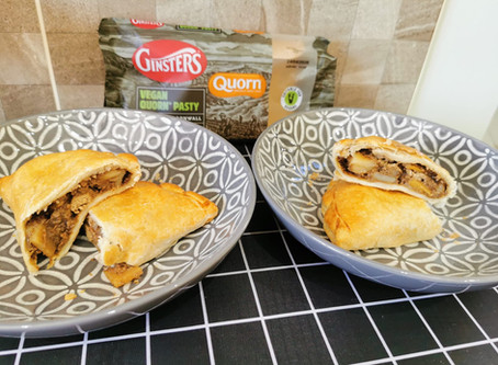 Review: Ginsters Vegan Quorn Pasty
