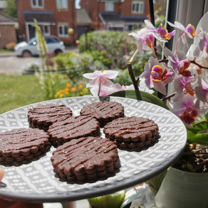 Gooey Brownie Biscuits