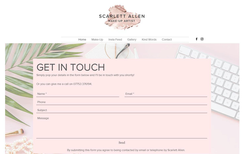 Scarlett Makeup Artist screenshot 2