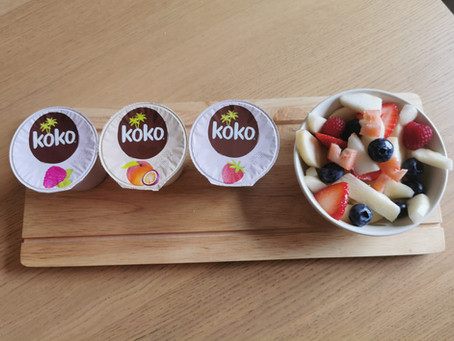 Review - Koko Fruit yoghurts