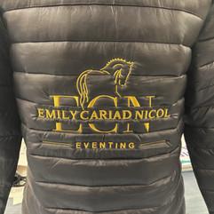 Emily Cariad Nicol Eventing workwear