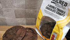 Tesco Wicked Kitchen Double Trouble Chocolate Cookies
