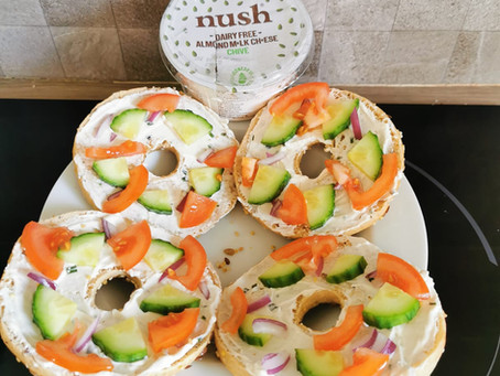 Nush Dairy Free Almond Milk Cheese with Chive Review