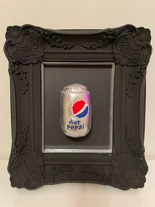 "Lucy Sparrow ""Diet Pepsi"""