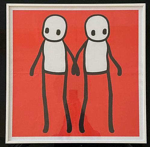 "Stik ""Holding Hands"" Red"