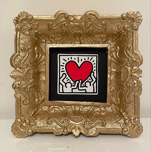 "Keith Haring ""Happy Heart"""