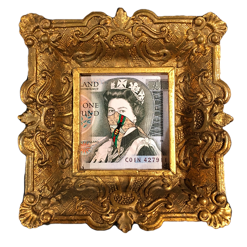 "Lewis Bannister ""Gucci Queen"" mini canvas"