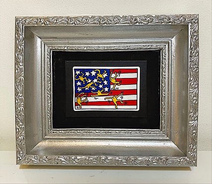 "Keith Haring""American Flag"""