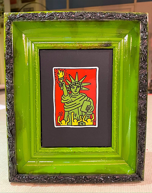 """Keith Haring """"Statue of Liberty"""""""