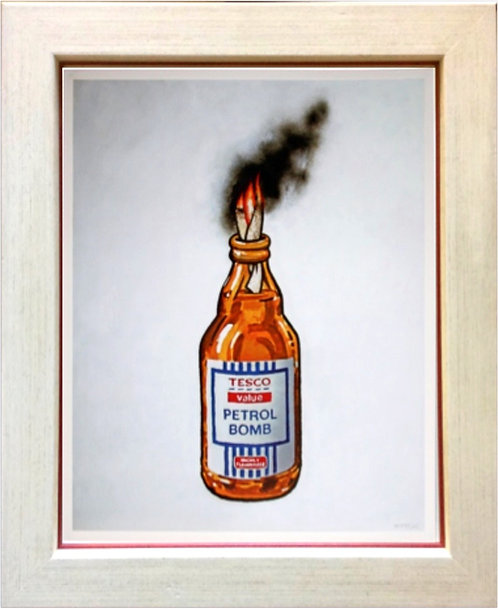 "BANKSY  ""Tesco Value Petrol Bomb"""