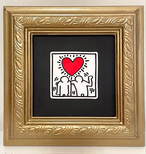 "Keith Haring ""Heavy Heart"""