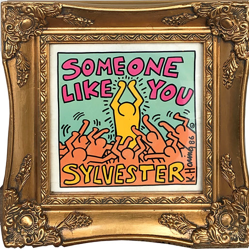 "KEITH HARING ""Someone Like You"" 7"""