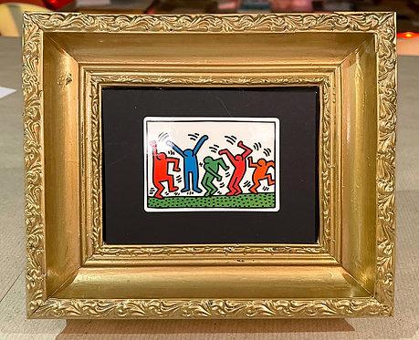 "Keith Haring ""Dancing Figures"""