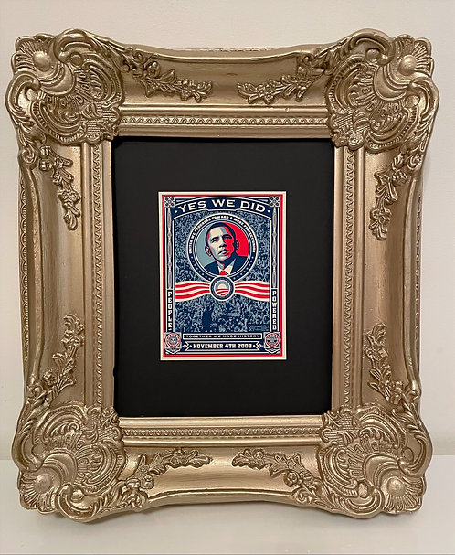 """Shepard Fairey """"Obama Yes We Did"""""""