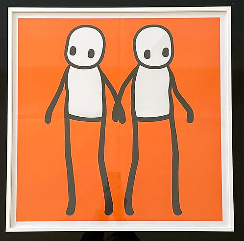 "Stik ""Holding Hands"" Orange"