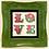 """Thumbnail: Ben Eine """"LOVE"""" Green"""