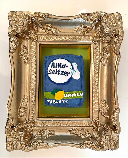 "Lucy Sparrow ""Alka-Seltzer"""