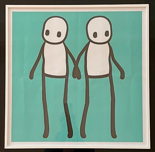 """Stik """"Holding Hands"""" Teal"""