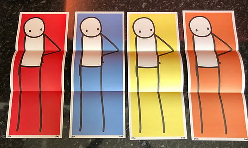 "Stik ""Big Issue JAPAN"" Full set signed"