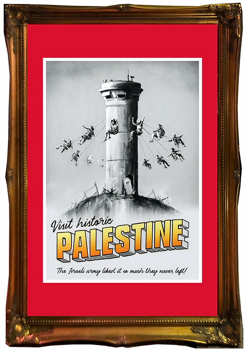 "BANKSY  ""Palestine Poster"""