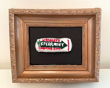 "Lucy Sparrow ""Spearmint"""