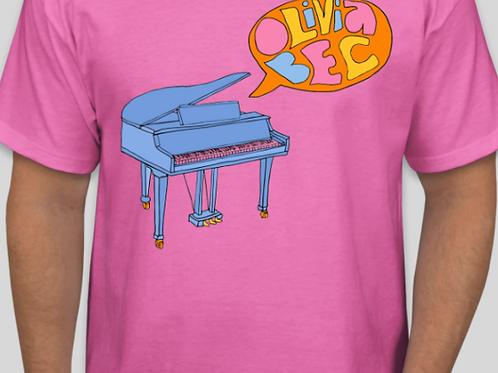 Thinking Out Loud Unisex Tee in Sherbert