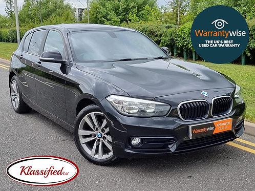 2016 BMW 1 Series 1.5 116d Sport (s/s) 5dr  64,000 miles