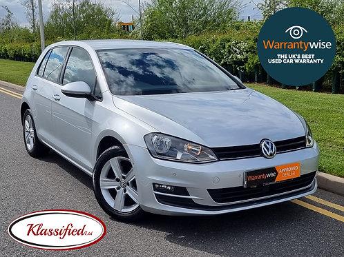 2015 Volkswagen Golf 1.6 TDI BlueMotion Tech Match (s/s) 5dr, 60k miles