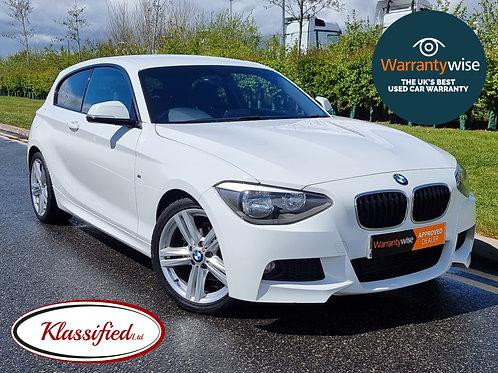 2013 BMW 1 Series 2.0 116d M Sport 3 door, 57k miles