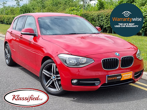2011 BMW 1 Series 1.6 116i Sport 5dr, 71K miles, great history