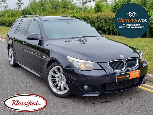 2010 BMW 5 Series 2.0 520d M Sport Business Edition Touring 5dr   111,500 miles