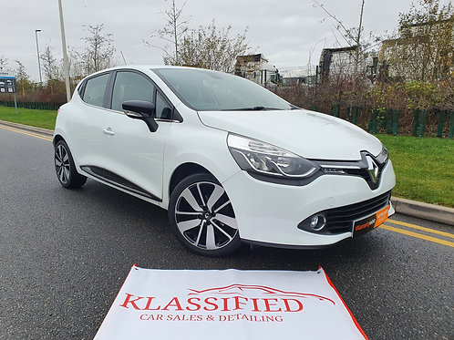 Renault Clio Dynamique S Nav 1.5 diesel AUTOMATIC - full history