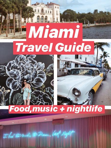 Travel Guide + Diary: Hola, Miami!