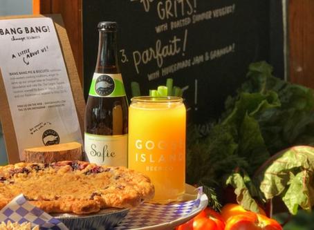 Victory Garden Initiative Brunch with Grey Goose Island Beer Co.