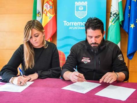 Firma de convenio con Ayuntamiento de Torremolinos