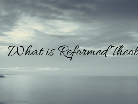 What is Reformed Theology? - Monergistic Soteriology