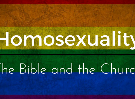 Homosexuality, the Bible and the Church - Part 4