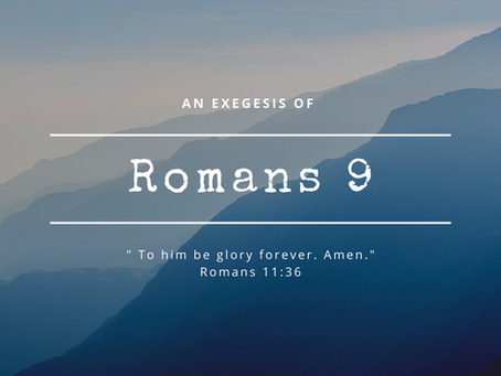 Romans 9:1-5: God's Sovereignty and Paul's Anguish