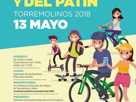 XXX Día de la bicicleta y del patín.