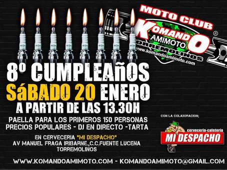 8ºAniversario Moto Club Komando Amimoto