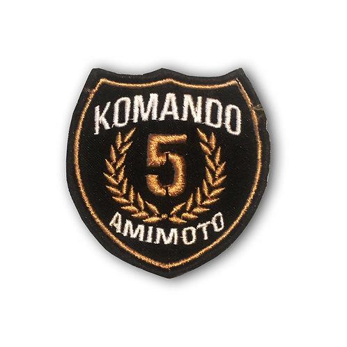 Parche 5 años Socio Fundadores Komando Amimoto