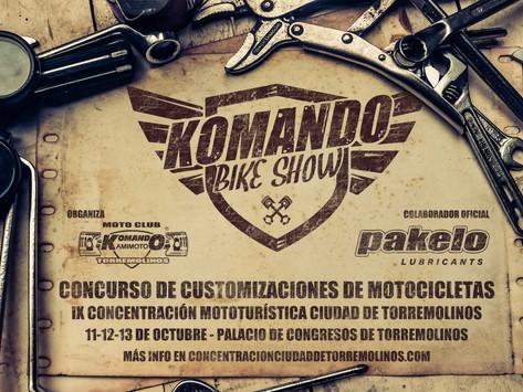 Inscripción Komando Bike Show