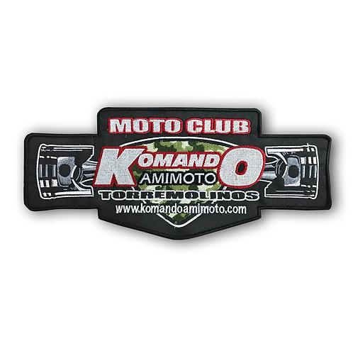 Parche grande logo Komando Amimoto