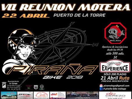 VII Reunión Motera Pirañas Bike 2018