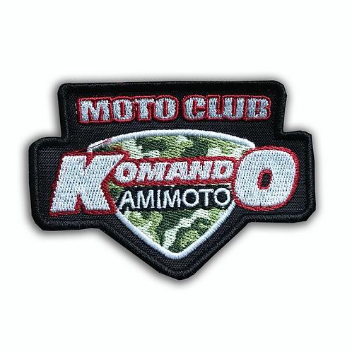 Parche logo Komando Amimoto pequeño